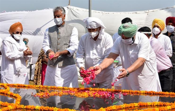 Punjab CM announces Rs 50 lakhs for upkeep & maintenance of Bhagat Singh memorial
