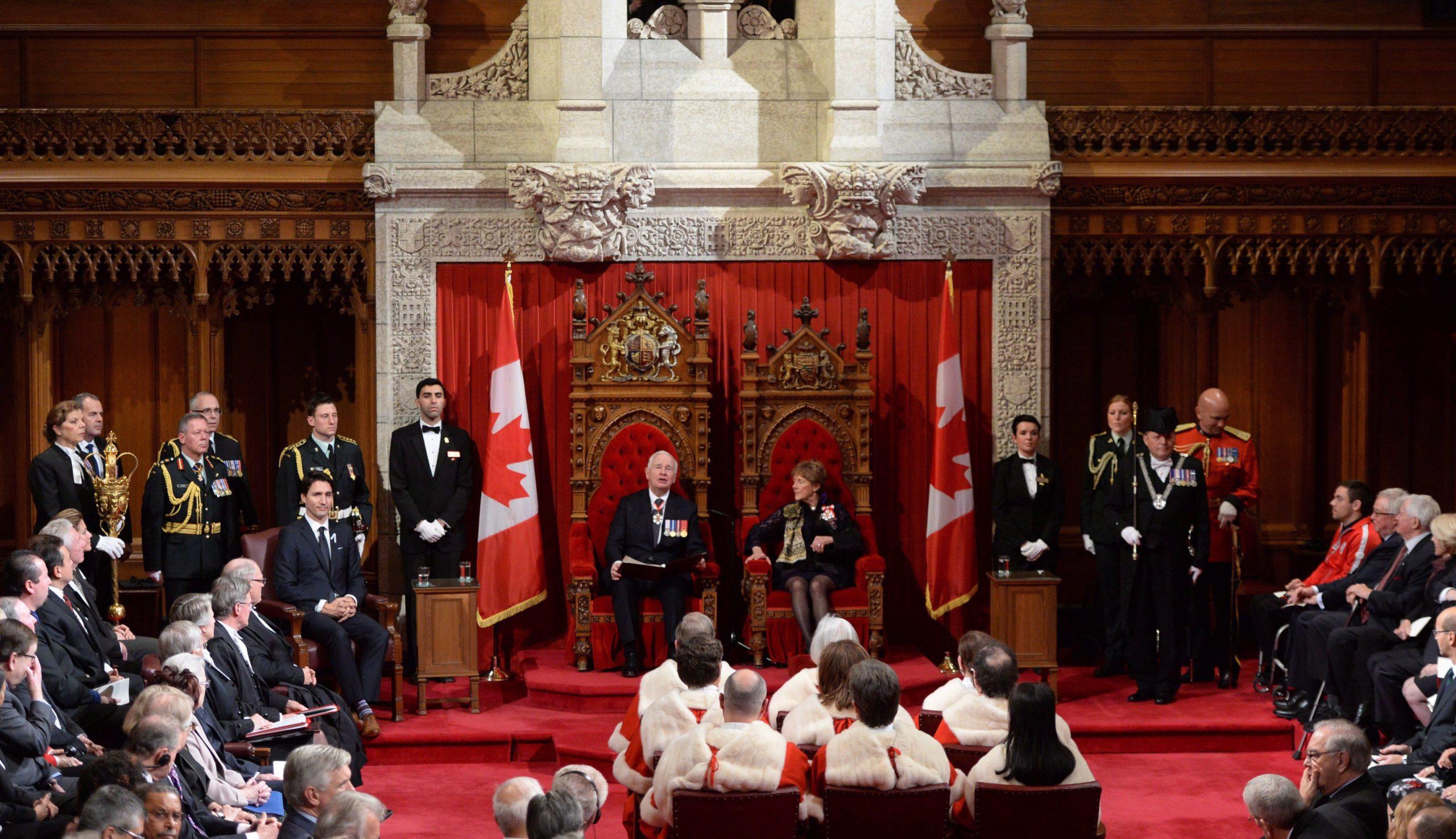 Throne speech; Premiers to meet in Ottawa on Friday