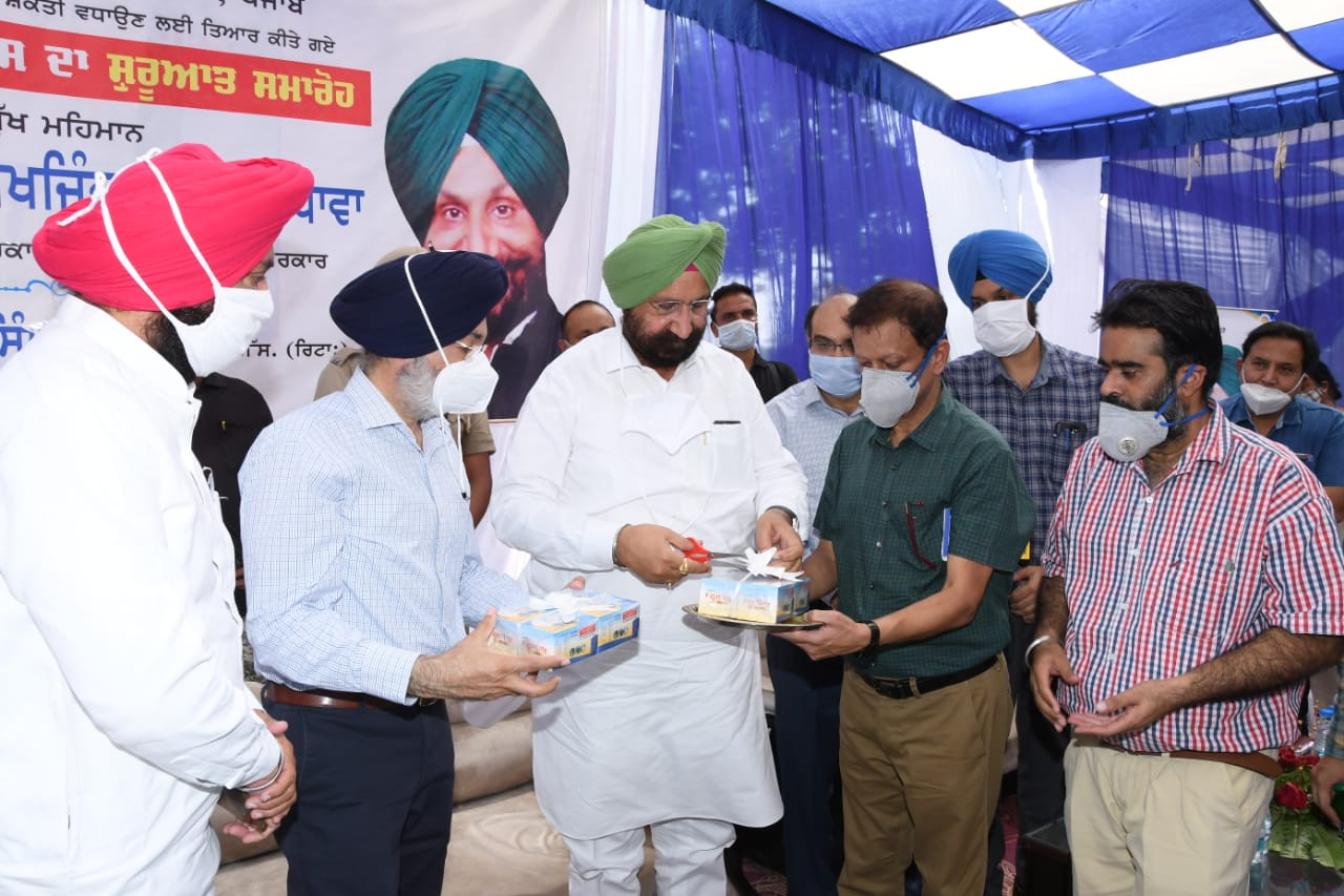 Randhawa launches Verka's specialized cattle feeds & supplements