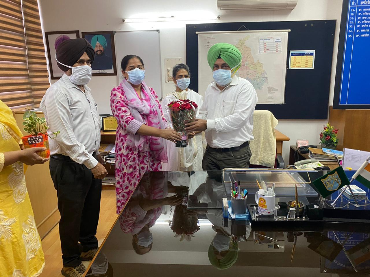 Civil Surgeon Dr. Manjit Singh becomes Director Health and Family Welfare department