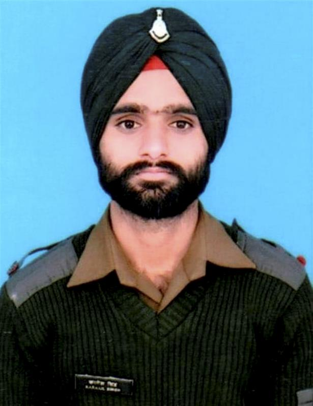 Punjab govt announces Rs 50 lakh ex-gratia compensation for soldier's kin