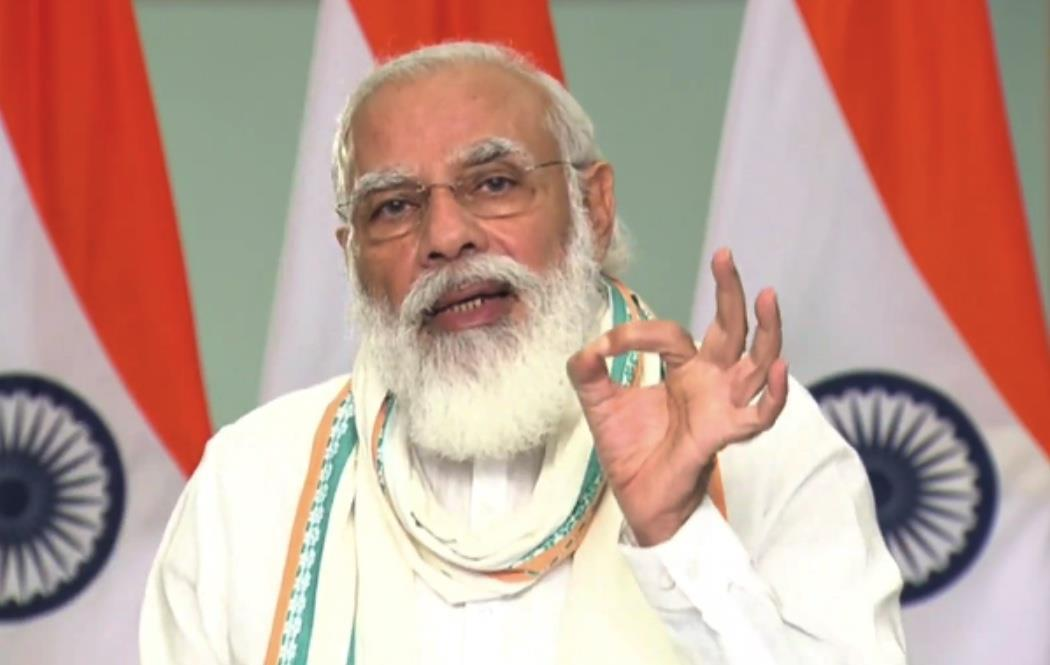 India's coronavirus fight people-driven; gets great strength from Covid warriors: Modi