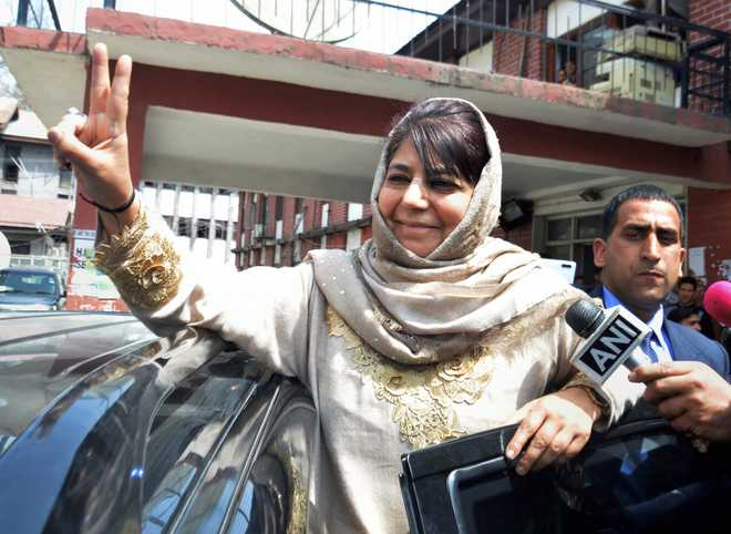 PDP chief Mehbooba Mufti being released from detention: JK govt spokesperson