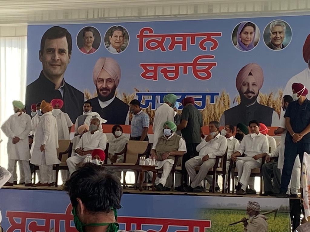 Farm acts, labour laws 'cleverly' brought in during pandemic: Rahul Gandhi in Punjab
