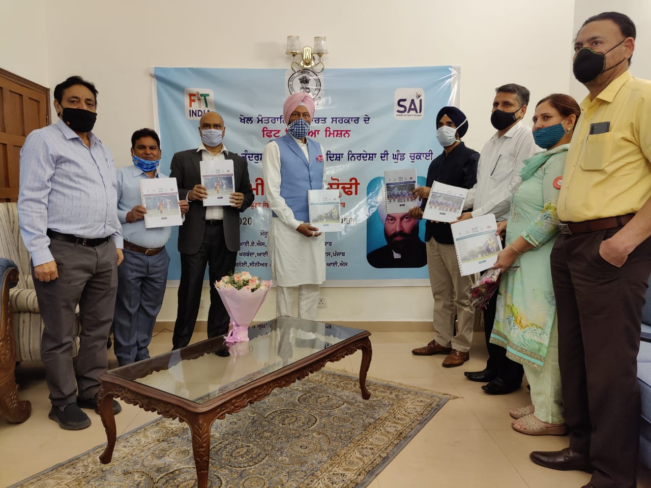 Rana Sodhi Launches Punjabi version of 'Age Appropriate Fitness Protocols'