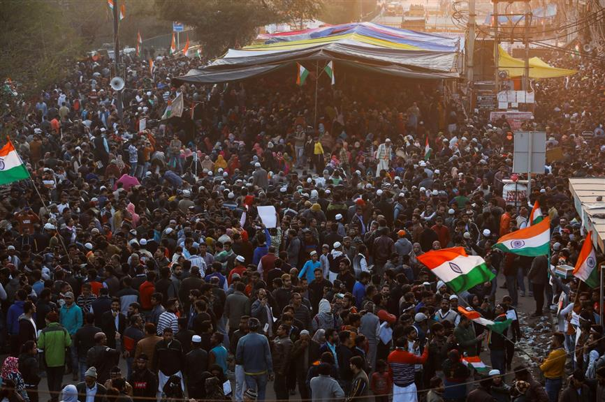Public places cannot be occupied indefinitely: SC on Shaheen Bagh stir