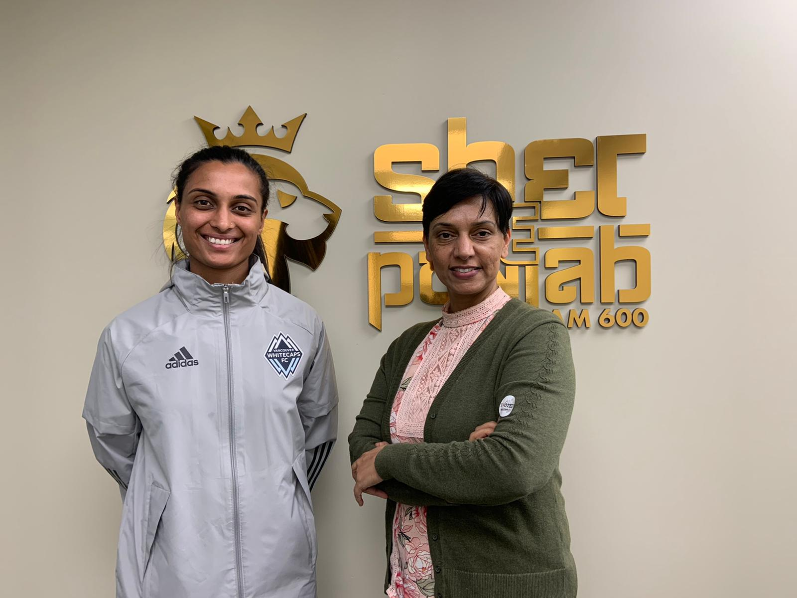 Jasmine Mander, the Soccer Coach discusses about life, sports and its challenges on The Navjot Dhillon Show