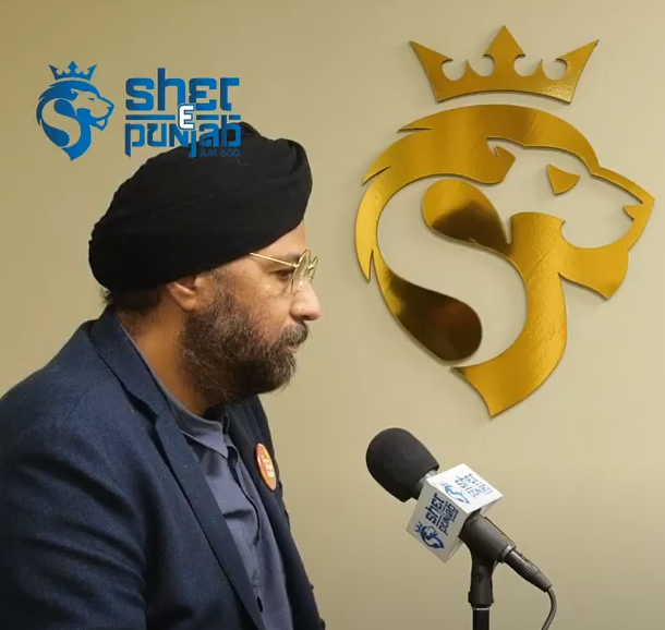 Amandeep Singh, NDP candidate from Richmond Queensborough shares his political ambitions