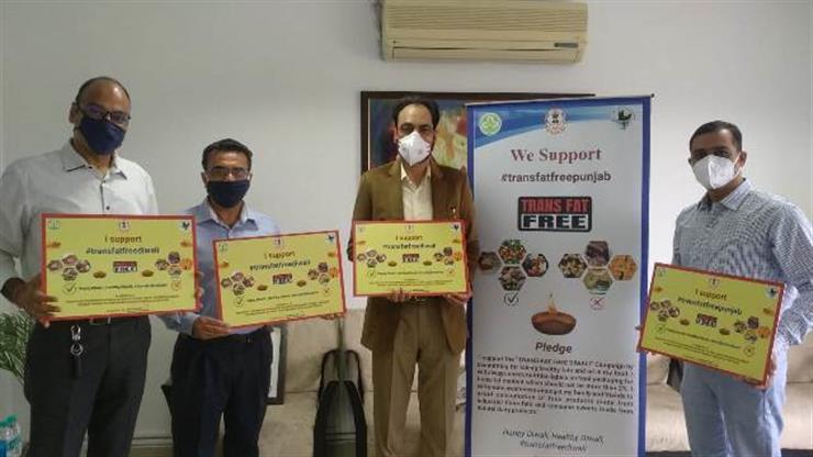 """Trans-fat free Diwali"" campaign launched in Punjab:  Principal Secretary Health"
