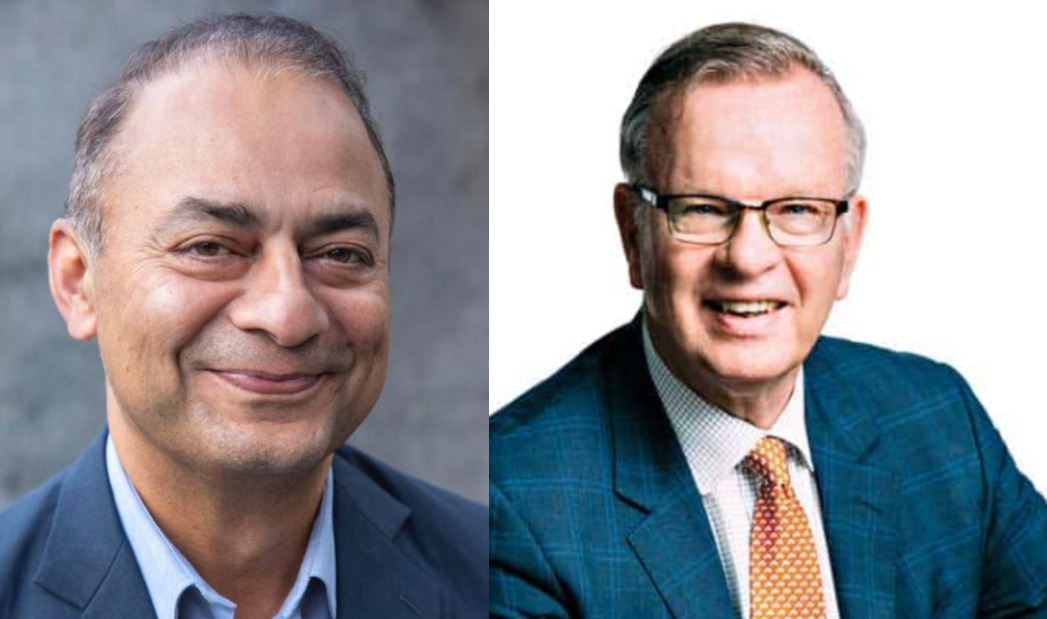 Shaukat Khan & Bruce Ralston in a rapid round of Questions with Dr Shinder Purewal
