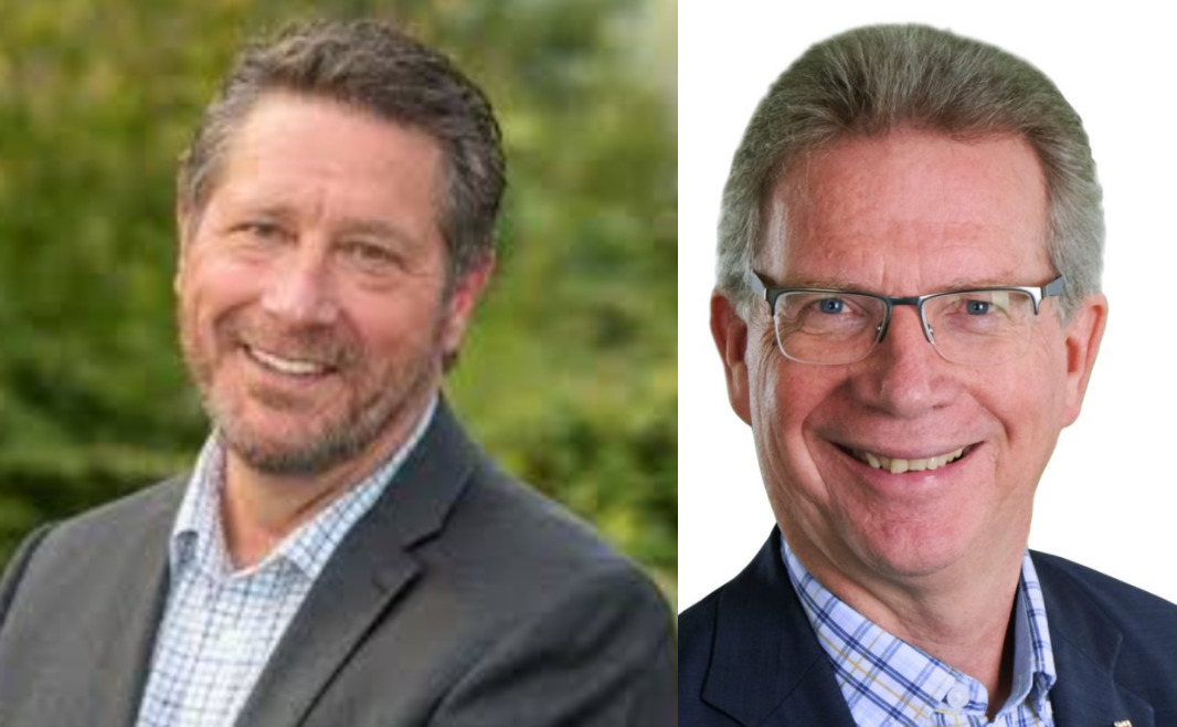 Mike Starchuk & Marvin Hunt talk about priorities in their riding with Dr Shinder Purewal