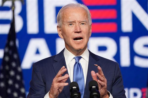 We're going to win this race, says Biden as his lead over Trump grows