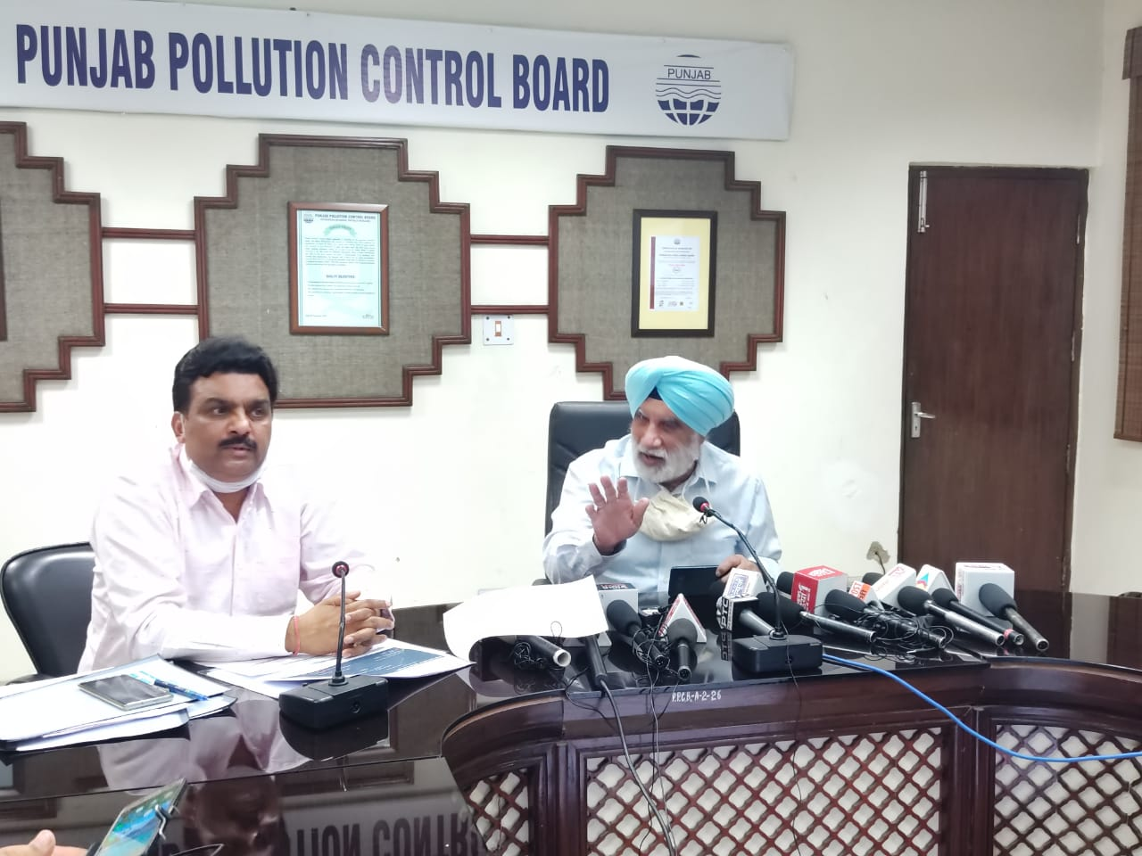Check Your Internal Polluting Source Before Blaming Punjab-PPCB Chairman Tells Delhi Authorities