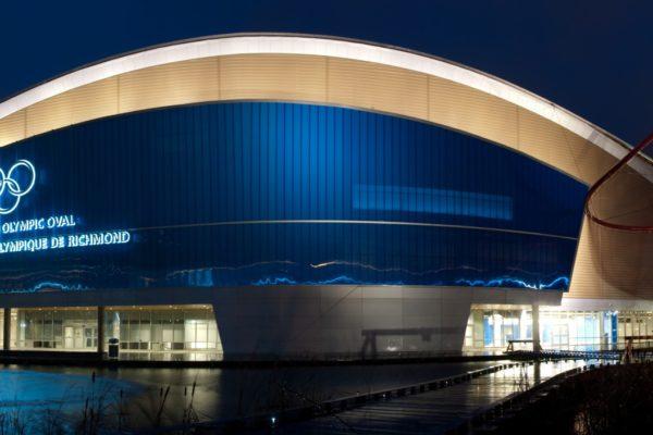 Richmond_Olympic_Oval_by_Night