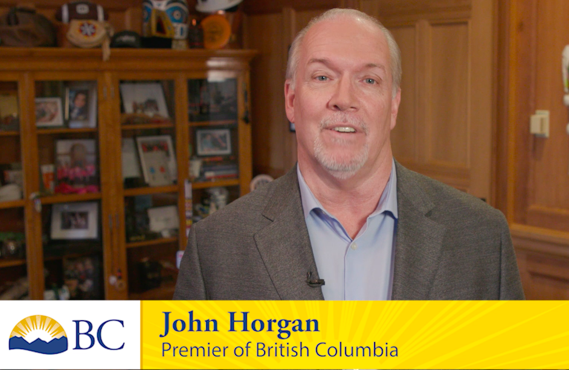 Premier John Horgan Diwali Message