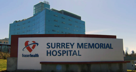 Covid 19 outbreak at Surrey Memorial Hospital