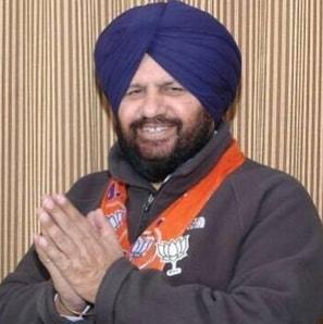 Harjit Singh Grewal BJP Punjab Vice President