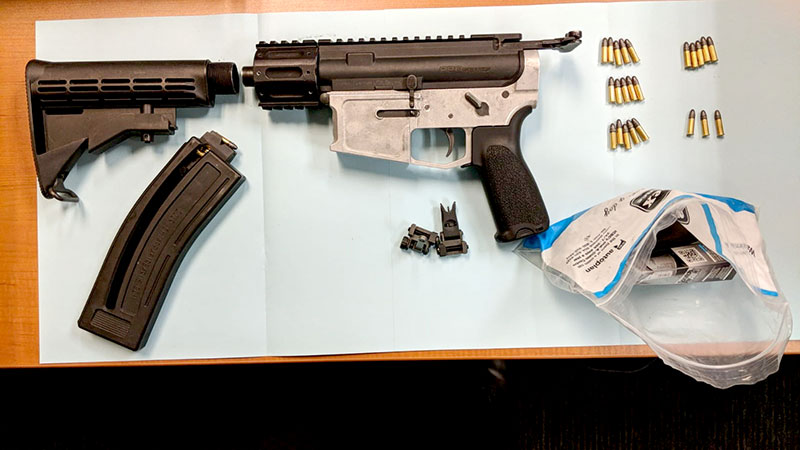 Surrey RCMP Seized Modified Assault Rifle in Guildford