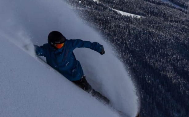 $1150 ticket issued to a snowboarder by West Vancouver Police