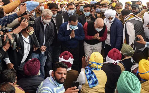 Delhi Chief Minister Arvind Kejriwal under House Arrest during ''Bharat Bandh''