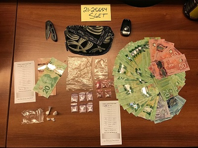 Drugs, cash seized by Surrey Gang Enforcement Team