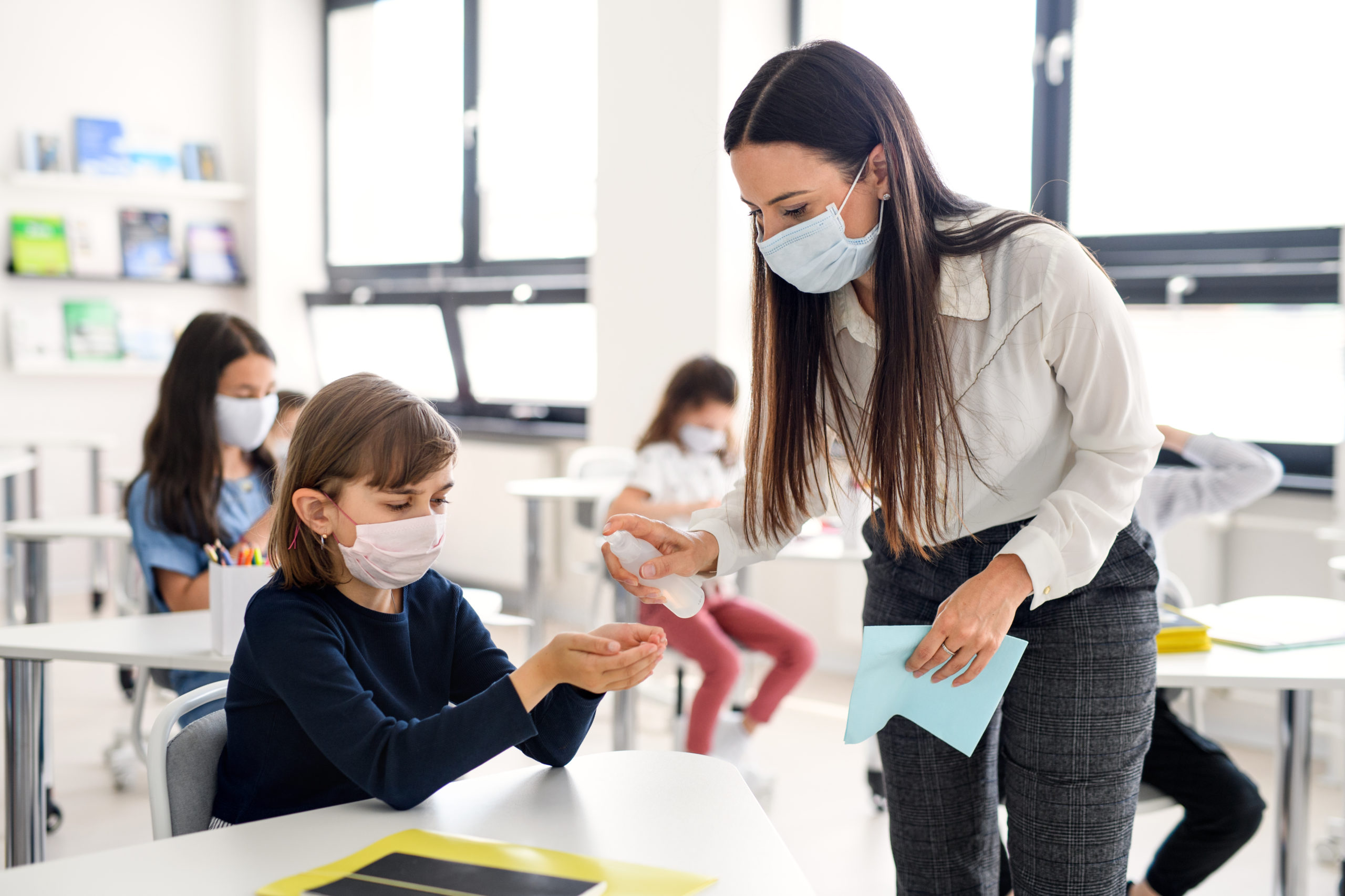 Masks are now mandatory for students and staff inside high schools and middle schools in B.C.