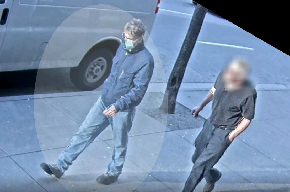 Random attack on dog walker in Vancouver, Suspect caught on camera