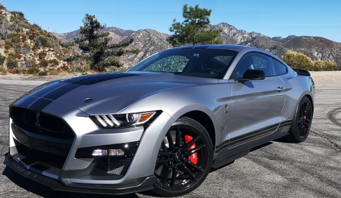 Mounties impounded four Ford Mustangs in Surrey