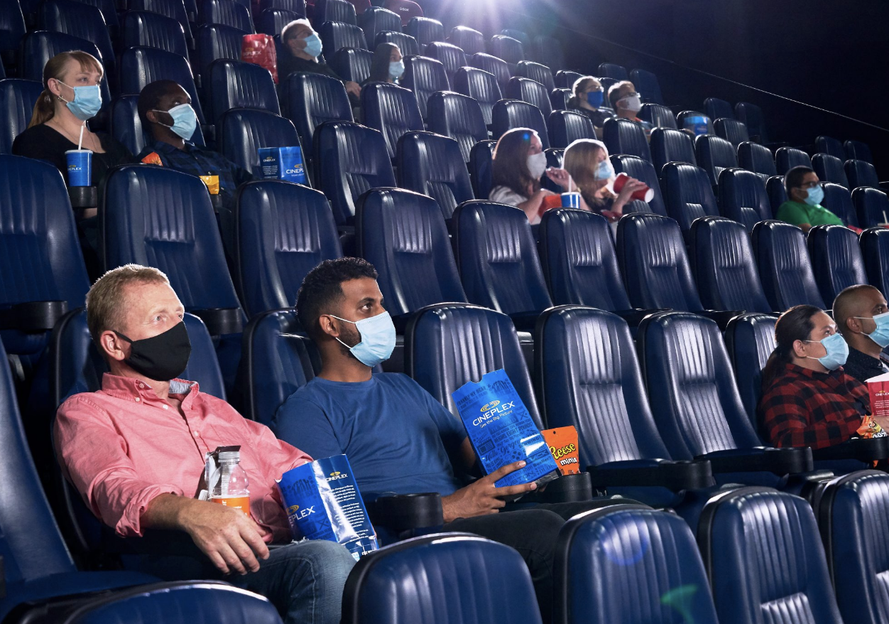 Cineplex Plans to reopen movie theatres across BC next week