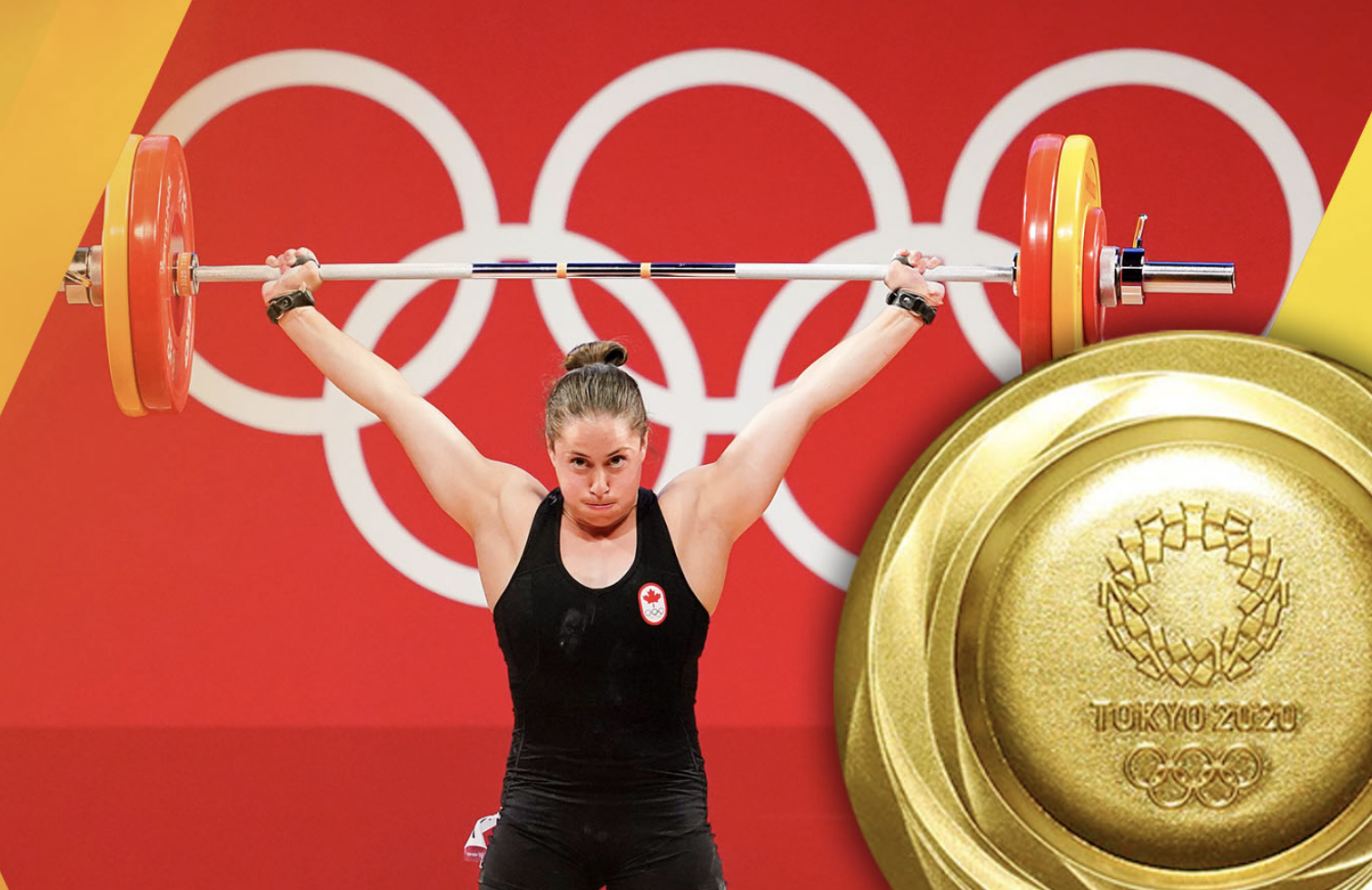 Charron wins Canada's second ever weightlifting gold at Tokyo 2020